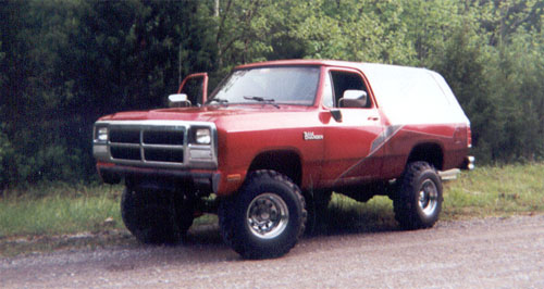 1991 Dodge Ramcharger 4x4 By David Pullen image 1.