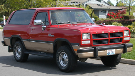 1991 Dodge Ramcharger 4x4 By Richard Denniston image 2.