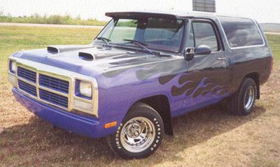 1991 Dodge Ramcharger By Al Merryweather image 1.