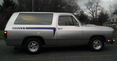 1991 Dodge Ram Charger By Ben Sebring image 2.