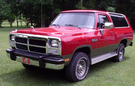 1991 Dodge Ramcharger 4x4 By David Earnhardt image 1.