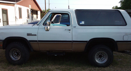 1991 Dodge Ramcharger 4x4 By DJ Gonzales image 2.