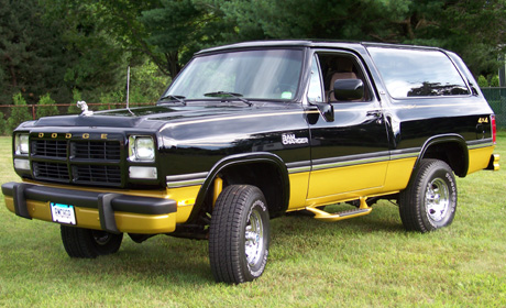1991 Dodge Ramcharger 4x4 By Jaime Mitchell image 1.