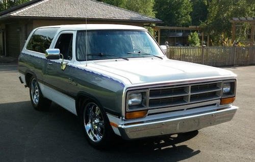 1991 Dodge Ramcharger By Larry Hutchinson image 1.