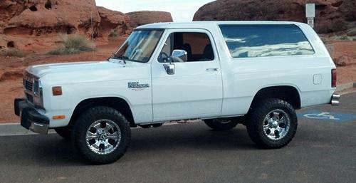 1991 Dodge Ramcharger By Mark Jackman image 1.