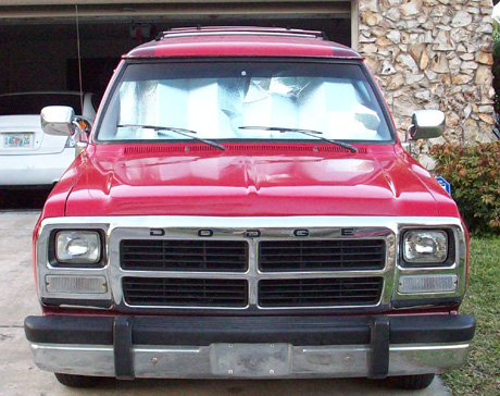 1991 Dodge Ramcharger 4x2 By Neil Skelly image 1.