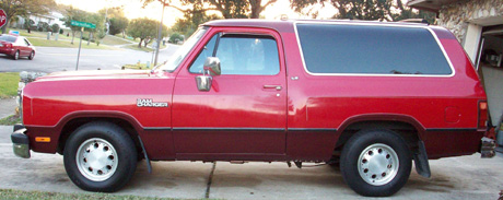 1991 Dodge Ramcharger 4x2 By Neil Skelly image 3