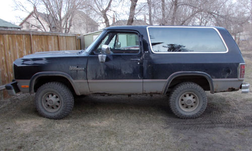 1991 Dodge Ramcharger By Todd Neaves image 1.