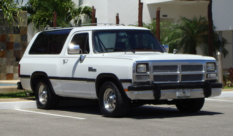 1992 Dodge Ramcharger By Gonzalo Madera image 3.