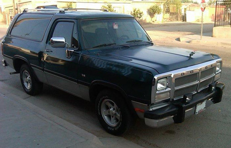 1994 Dodge Ramcharger by Cristian Nava image 1.