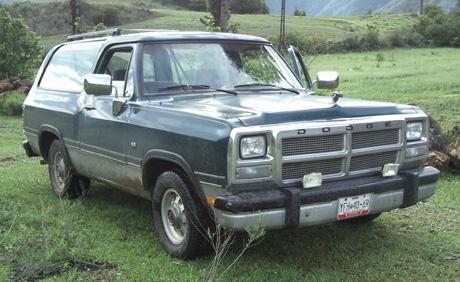 1994 Dodge Ramcharger by Omar Gonzalez Santos image 1.