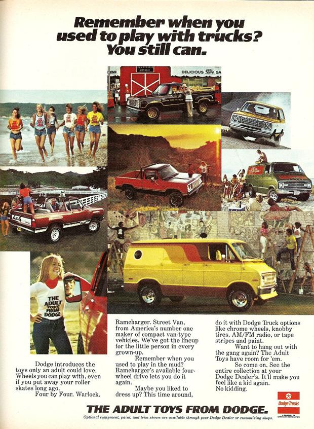 1978 Dodge Truck Advertisement