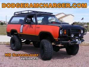 Dodge Ramcharger HD Screensaver Version 1.0