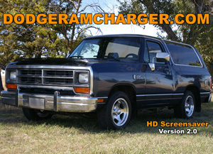 Dodge Ramcharger HD Screensaver Version 2.0