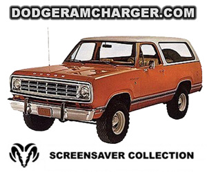 Dodge Ramcharger Screensaver Collection