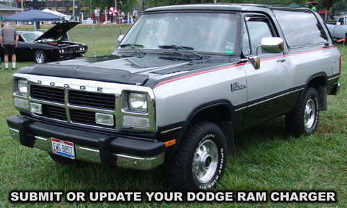Dodge Ramcharger. Photo from the 2012 Mopar Nationals Event.