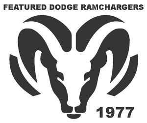 Featured 1977 Dodge Ramchargers.