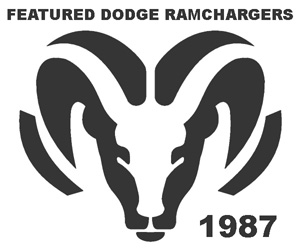 1987 Dodge Ramcharger Collection