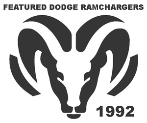 Featured 1992 Dodge Ramchargers