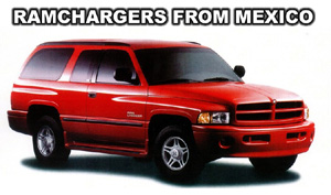 1999 Dodge Mexico Only Ramcharger