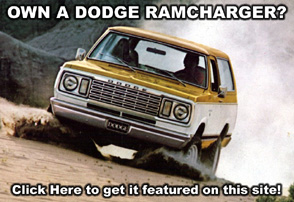 Own A Dodge Ramcharger?